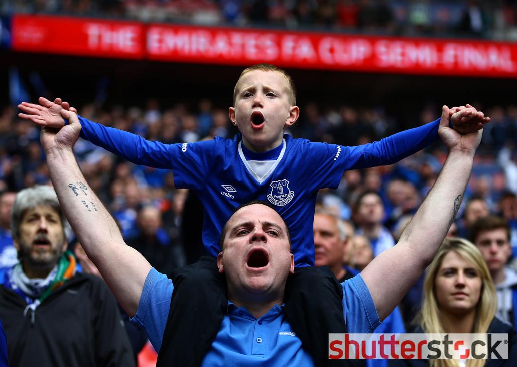 The Emirates FA Cup 2015/16 Semi Final Everton v Manchester United Wembley Stadium, Wembley, London, United Kingdom – 23 Apr 2016