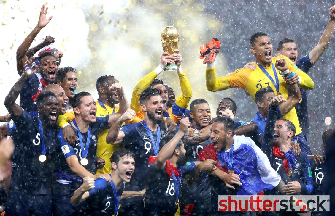 France v Croatia, Final, 2018 FIFA World Cup football match, Luzhniki Stadium, Moscow, Russia – 15 Jul 2018